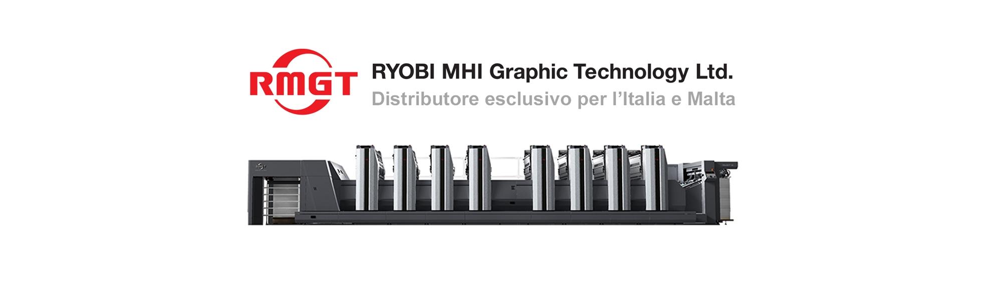 Distributore ufficiale RMGT RYOBI MHI Graphic Tecnology