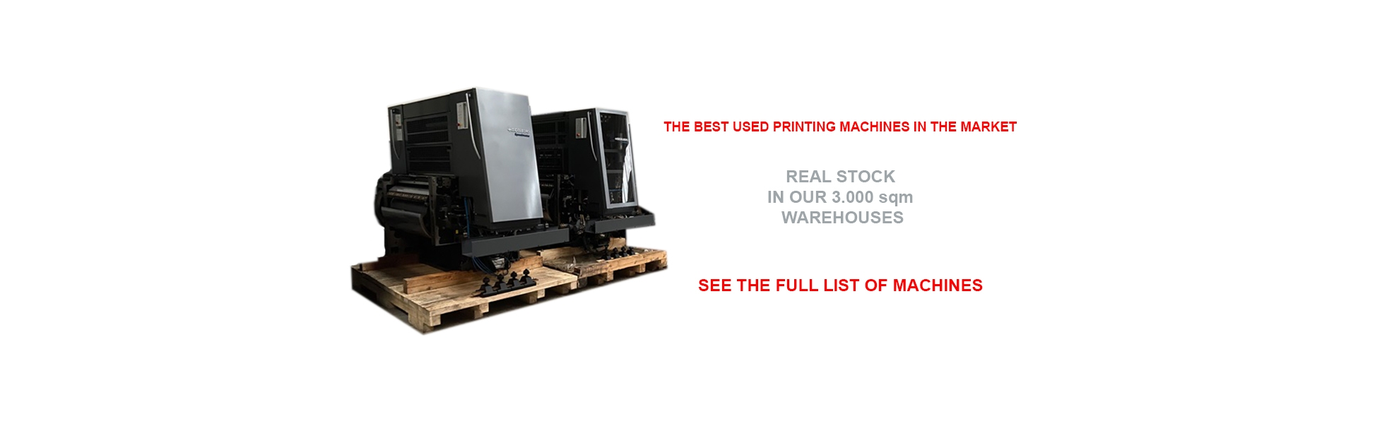USED MACHINES