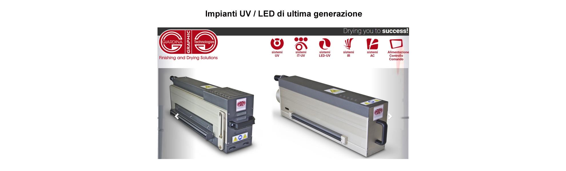 Impianti UV / LED