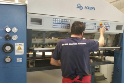 Grafica Ragno in Italy print now with KBA 162a-4