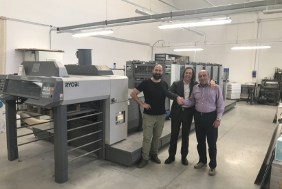 8° machines sold to Tipografia Senesi from us