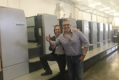 Installed in Italy a beautiful HEIDELBERG SM 102-8P-S