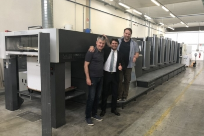 Beautiful HEIDELBERG CD 102-5+LX sold to EVJA in Poland
