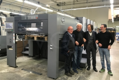 A brand new RMGT 1050ST-4 at La Zecca printing house