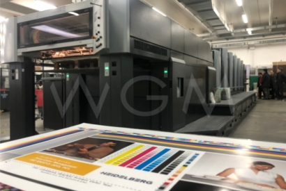 Eunsung Printers bought two Heidelberg CD 102-5+LX from our company